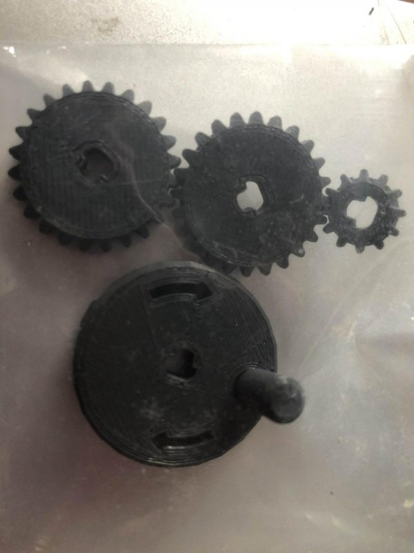 At least the gears ⚙️ printed earlier were successful